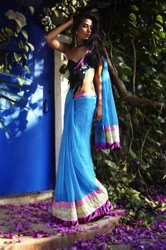 Beautiful blue sari. Ultra trendy sari. Photography color scheme genius. Money makes Fashion happen. Adooye makes Money happen ! Call me, Vivek, 9844158155, find out how ! Free demo ! Watch ads daily, talk to people about the Adooye Opportunity. Encourage them to join you. Develop a good team and you could earn in lacs per month, with income growing every month. EarnMoneyBurnFat.com.
