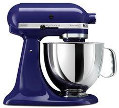 KitchenAid KSM150PSER Artisan Series 5-Quart Mixer, Cobalt Blue