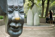 kowloon park sculpture garden.