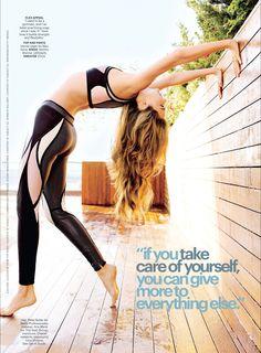 Miranda Kerr. yoga.
