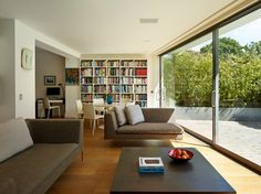 Muswell Hill 2014 - contemporary - Living Room - London - Gregory Phillips Architects