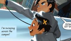 Damian is stuck on Maps (literally) in Gotham Academy by Becky Cloonan and Brendan Fletcher! Gotham Academy, Comic News, Comic Reviews, Dc Comics, Disney Characters, Fictional Characters, Marvel, Disney Princess, Disney Princes