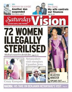 Grab your copy of  Saturday Vision  for fresh news here- https://vpg.visiongroup.co.ug/flippaper/personal/