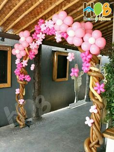 Flower Tree Gate,,, This would look great at the entrance to a barn wedding perhaps in white.