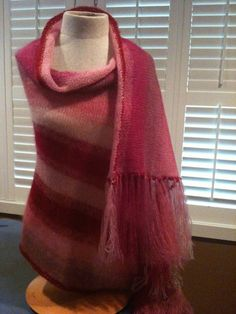 Hand knitted by moi - Artyarns Silk Mohair; softly and warm!