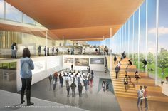 Proposals Unveiled for Kent State's new Architecture College (7)