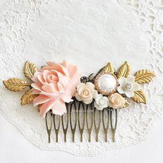 Hochzeit  Haar  Kamm  Braut- Zubehörteil  für Bräute  Brautjungfern