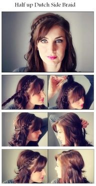 Pulp hairstyle step by step