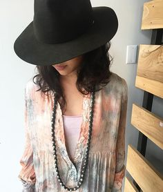 The rain is not bringing us down, we are are having a tie dye party at Abejas with the Raquel Allegra pieces from the Trunk Show come join u