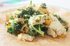 Clean Eating Recipe – Broccoli-Turkey-Cheddar Wrap | Clean Eating Recipes - Clean Eating Diet Plan Made Easy