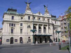 Había un teatro que se llamaba Divadlo na Vinohradech