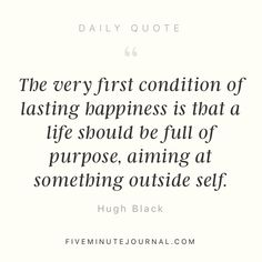 I needed this today @5minutejournal