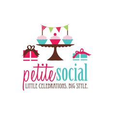 Logo Design for PetiteSocial by Camille Chung