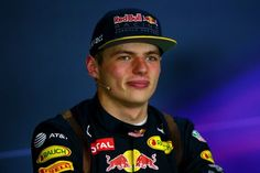 Max Verstappen in de persconferentie na zijn P2 in Oostenrijk.