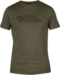 0a4fc4ebddfb0b Fjallraven Men s Logo T-Shirt Logos