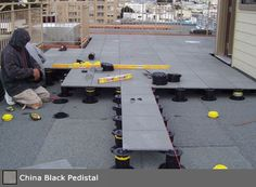 Interlocking Stone Deck Tile systems for patios and balconies
