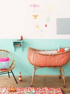 The cutest colorful nursery!