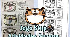 PDF AQUI Stop é um jogo muito comum entre as crianças e até mesmo entre adultos , que consiste em desenhar-se uma tabela ...