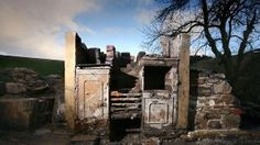 Nick Ravenscroft visited the derelict house near the mysterious Pendle Hill