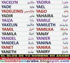 Plantillas De Nombres En Arabe Para Tatuajes Cordoba Corina Cris