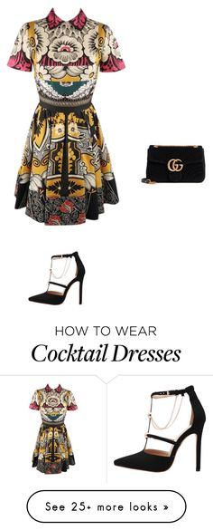 """""""Untitled #20559"""" by explorer-14576312872 on Polyvore featuring Valentino and Gucci"""