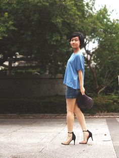Nana stars*: Denim blue