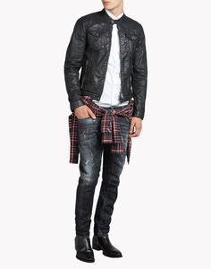 Tidy Biker Jeans - 5 Pockets Men - Dsquared2 Online Store