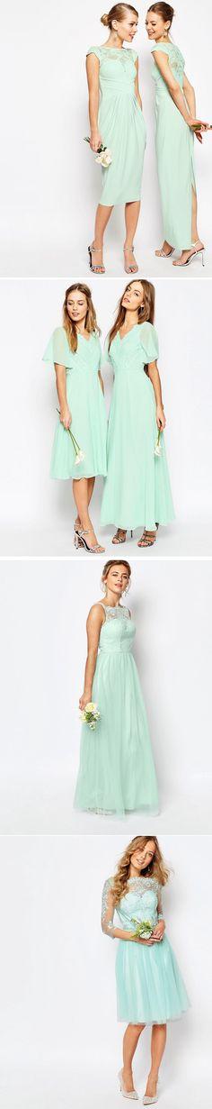 Bridesmaids colours I'm loving this summer....