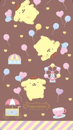 Sanrio Wallpaper, Kawaii Wallpaper, Cool Wallpaper, Pattern Wallpaper, Iphone Wallpaper, Sanrio Characters, Cute Characters, Illustrations And Posters, Pikachu