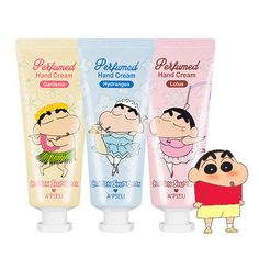 [A'PIEU] Perfumed Hand Cream (Crayon ShinChan Edition) 35ml - Seoul Cosmetics #APIEU
