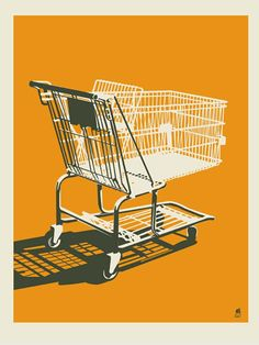 SHOPPING CART 11x14