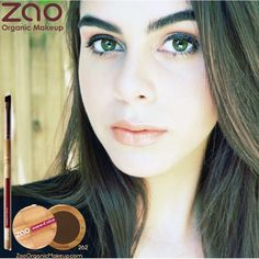 Frame Your Eyes With Perfect Brows!!  #ZaoOrganicMakeup Brow Powder Is #ChemicalFree #100%Natural, #Vegan, #CrueltyFree  With the powerful benefits of: Bamboo StemPowder, Shea Butter, Apricot, Macadamia & Avocado Oil!! #Sustainable #Refillable  #ToxicFree #GoGreen #ToxicFreeBeauty  #GreenBeauty  #OrganicMakeup  #NonToxicBeauty #GreenLiving #CleanBeauty  #OrganicBeauty #LuxuryMakeup #MakeupLover #OrganicBlogger #MakeupJunkie #CrueltyFreeBeauty #ZaoMakeup #MUA #Zao #SaveThePlanet #Makeup