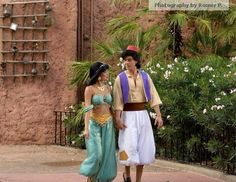 Walt Disney World: Characters of the Morocco Pavilion