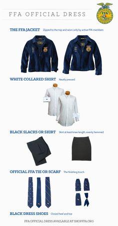 FFA Official Dress 101