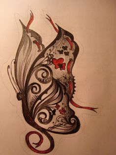 Tattoo Designs With Image Arm Butterfly Gothic Tattoo