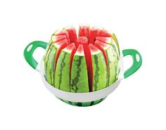 Amazing Kitchen Gadgets  – Melon Slicer This melon slicer is great for summer gatherings with family and friends. In South Africa where the weather is hot over December, watermelons are part of the Christmas get-togethers. This slicer is perfect and everybody gets the same size melon.