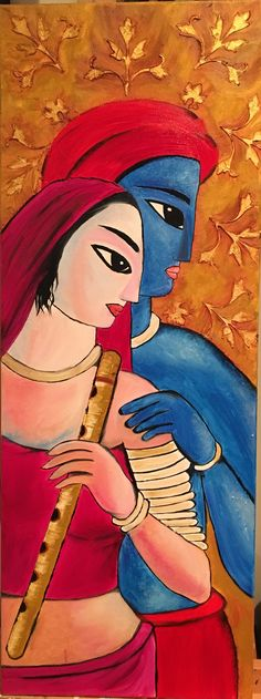 images of lady contemporary for painting Madhubani Art, Madhubani Painting, Painting Abstract, Krishna Painting, Krishna Art, Radhe Krishna, Rajasthani Art, Indian Art Paintings, Indian Artwork
