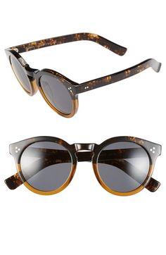 Illesteva 'Leonard II' 50mm Round Sunglasses   Nordstrom