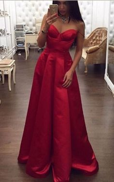 Spaghetti Straps Prom Dresses,High Low Prom Dresses,Red Prom Dresses,A-line Prom Gowns,Plus Size Prom Dresses,Women Dresses,Simple Cheap Prom Dress,Party Dresses