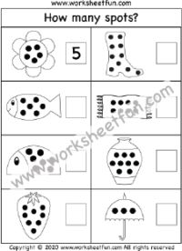 Number Counting 1-10 – One Worksheet / FREE Printable Worksheets – Worksheetfun Fun Worksheets For Kids, Printable Preschool Worksheets, Math For Kids, Kindergarten Worksheets, Numbers Preschool, Preschool Math, Maths, All About Me Preschool Theme, Free Math