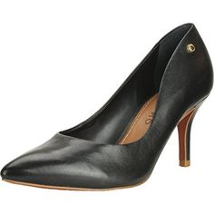 Carrano Women's Black Accent Pump 9 US *** This is an Amazon Associate's Pin. Click the image to view the details on Amazon website.