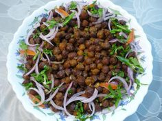 Bhuna masala chana is a very easy and tasty dish which will be loved by all. A light, filling and nutritious snack. Can be served in breakfast too.