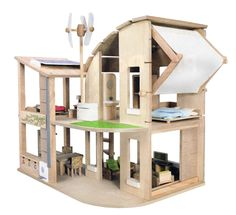 Gender-neutral Alternatives To A Pink, Plastic Dollhouse