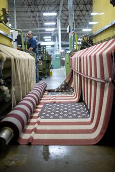 Flags on the loom