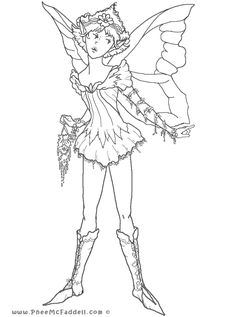 first fairy coloring page tons of free fairy tale digis at wwwpheemcfaddell