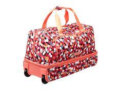 Vera Bradley Luggage Lighten Up Wheeled Carry-on Rosewood - Zappos.com Free Shipping BOTH Ways