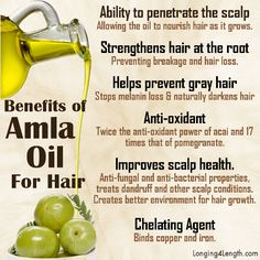 Benefits of Amla Oil for Hair http://altmedicine.about.com/od/herbsupplementguide/a/Amla-Oil.htm