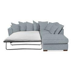 Sectional Sofa Grosvenor Right Hand Scatter Back Corner Sofa Bed Dunelm