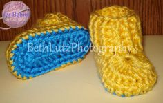 Size Newborn Handmade Crochet Baby Minions Colors by Hooked4Babies