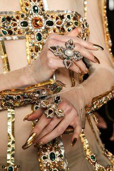 "forlikeminded: "" Guo Pei | Haute Couture | Spring 2017 """